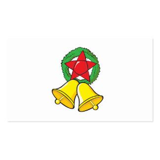 Custom Merry Christmas Star Lantern Invitation Business Card