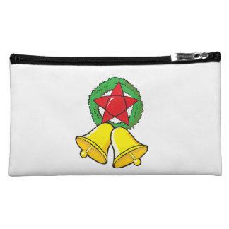 Custom Merry Christmas Star Lantern Stickers Cosmetic Bag