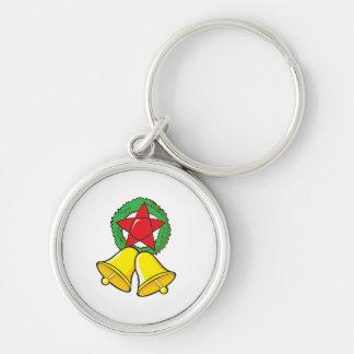 Custom Merry Christmas Star Lantern Stickers Key Chain