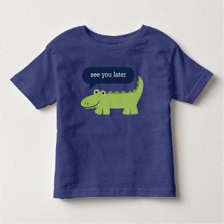 Custom Message Alligator Kids Shirts