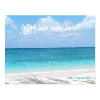 Custom Message Grand Cayman Island Postcard