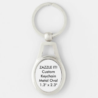 Custom Metal Keychain Key Ring Blank Template
