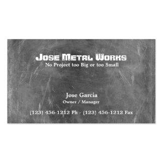 Custom Metal Works Business Card Templates
