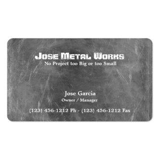 Custom Metal Works Business Card Template