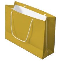 Custom Metallic Gold Gift Bag - Large, Glossy