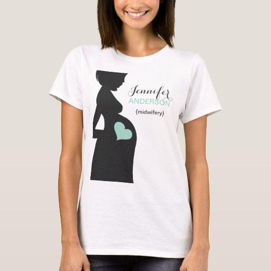 Custom midwife doula t shirt for Zazzle custom t shirts