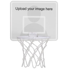 Custom mini basketball hoop with backboard frame