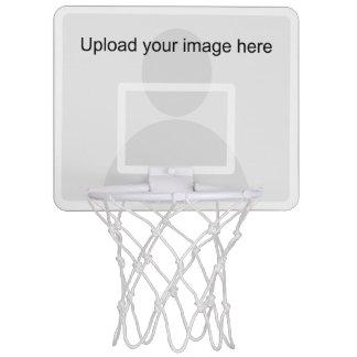 Custom mini basketball hoop with backboard frame