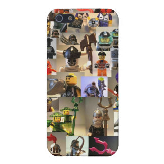 Custom Minifigure Collage Cover For iPhone SE/5/5s