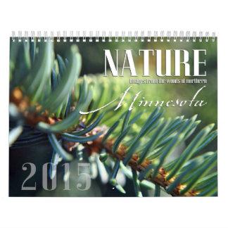 Custom Minnesota Nature Calendar for 2015