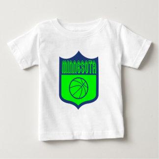 Custom Minnesota Shield Design1 Baby T-Shirt