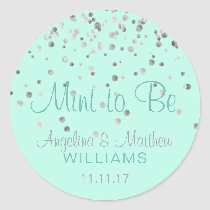 PERSONALISED GLOSSY WEDDING CONFETTI PATTERN PINK /& GOLD FAVOUR STICKERS LABELS