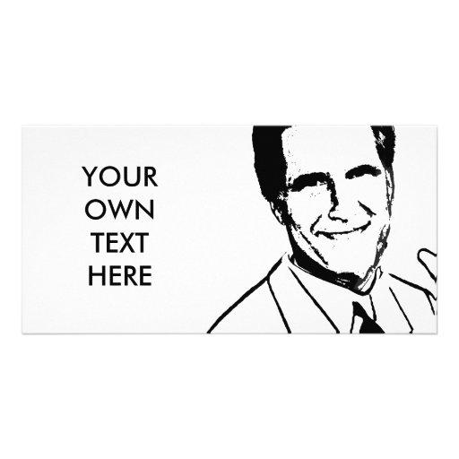 Custom Mitt Romney Photo Card Template
