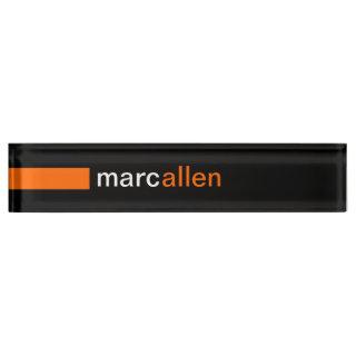 Modern Nameplates