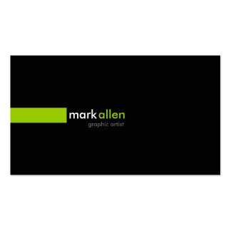 Custom Modern 519 Double-Sided Standard Business Cards (Pack Of 100)