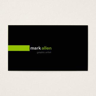 Custom Modern 519b Business Card