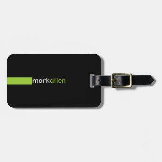 Custom Modern 519b Luggage Tag