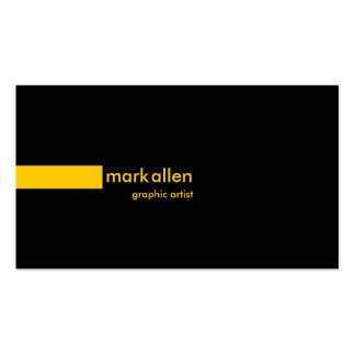 Custom Modern 519G Double-Sided Standard Business Cards (Pack Of 100)