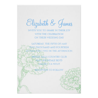 photo wedding invitations 9 000 blue and green wedding invitations blue and green 6500