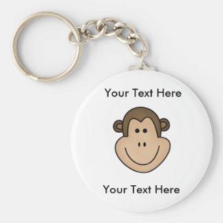 Custom Monkey Keychain