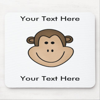 Custom Monkey Mousepad - Customizable