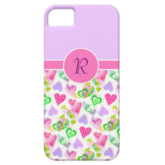 Custom Monogram Barely There iPhone 5 Case