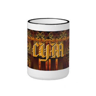Custom Monogram Celtic Fantasy Art Mug
