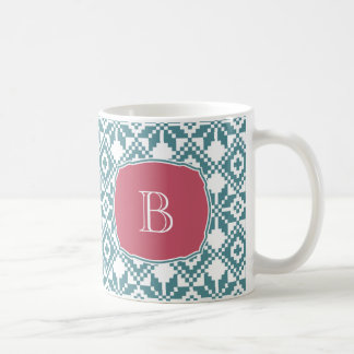 Custom Monogram Christmas Gift Mugs