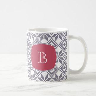 Custom Monogram Christmas Gift Mugs