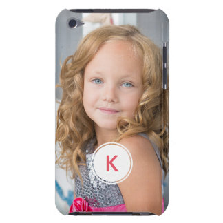 Custom Monogram Circle Personalized Photo Template iPod Touch Covers