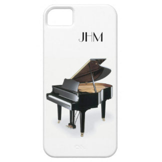 Custom Monogram Classical Music Grand Piano iPhone SE/5/5s Case