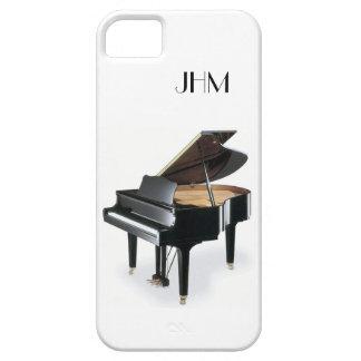 Custom Monogram Classical Music Grand Piano iPhone SE/5/5s Case