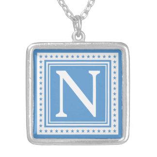 Custom monogram & color necklace