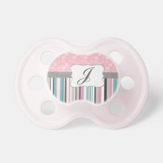 Custom Monogram Cool Pattern Combination Pacifier