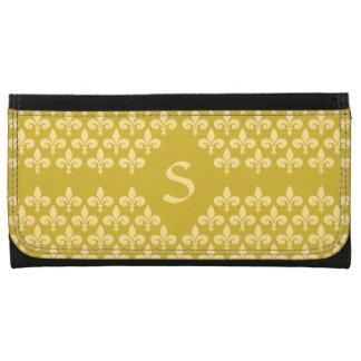 Custom Monogram Fleur-De-Lis wallets