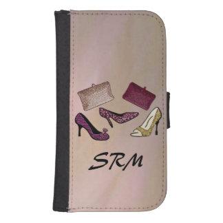 Custom Monogram Girls Nite Out Samsung S4 Wallet Case