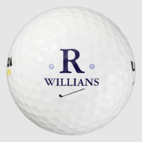custom monogram golf balls