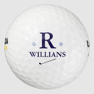 custom monogram golf balls