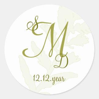 Custom Monogram label