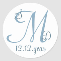 Custom Monogram label