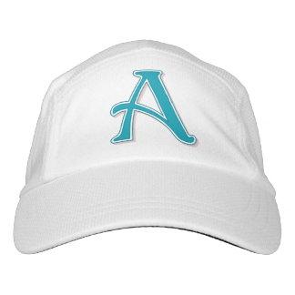 Custom Monogram Letter A Hat
