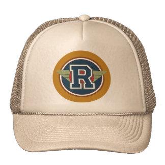 """Custom Monogram Letter """"R"""" Trucker Hat"""