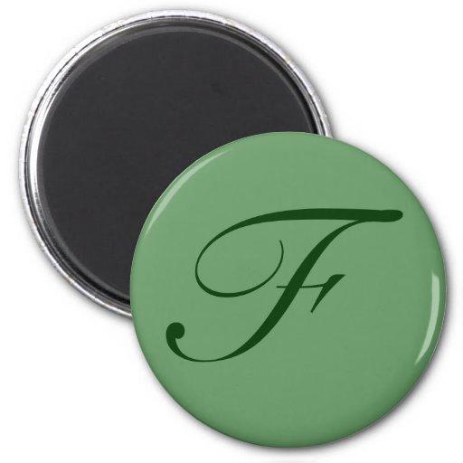 Custom Monogram Magnet