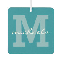 CUSTOM MONOGRAM, NAME & COLOR air freshner Air Freshener