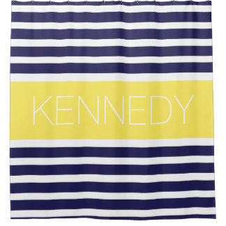 Navy Blue And Yellow Shower Curtains ZazzleBlue And Yellow Striped Shower Curtain   Curtain Menzilperde Net. Navy And Yellow Shower Curtain. Home Design Ideas