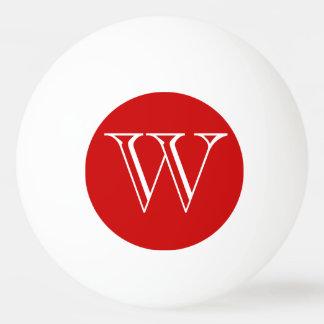 Custom Monogram Ping Pong Ball