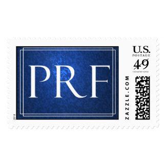 Custom Monogram PRF Postage