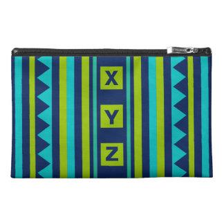 Custom Monogram Quilt pattern accessory bags