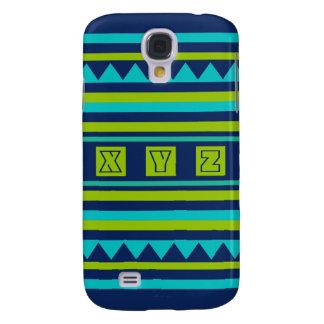 Custom Monogram Quilt pattern Samsung case