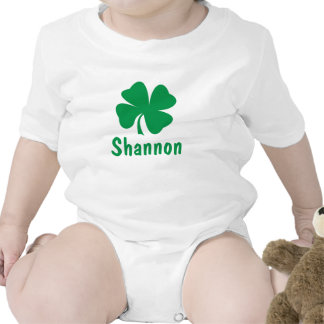 Custom Monogram   St. Patrick's Day T-Shirt